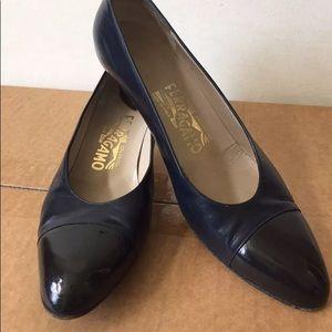 Ferragamo Shoes Italy Pumps Heels Size 8 Leather